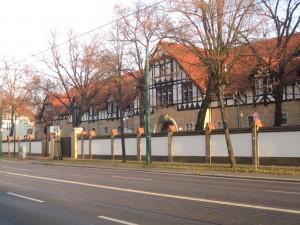 Potsdam, die vielen Kasernen gehören bis heute zum Stadtbild