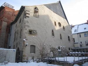 Erfurt, Alte Synagoge (älteste Bauteile 11. Jh.)