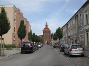 """Bernau, Neubauten der """"sozialistischen Stadt"""""""