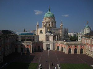 Potsdam, Fortunaportal und Nikolaikirche