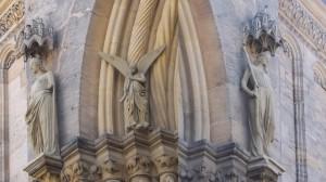 Bamberg, Dom, Ecclesia und Synagoga