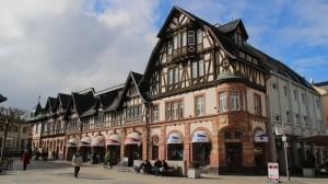 Landhausstil, hier in Bad Homburg.