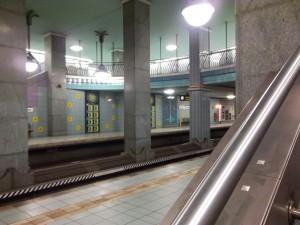 Berlin, U-Bahnhof Lindauer Allee