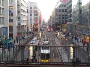 Berlin-Mitte, die Friedrichstraße