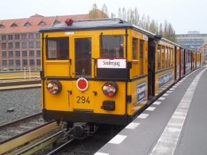 Nostalgiefahrt mit der Berliner U-Bahn