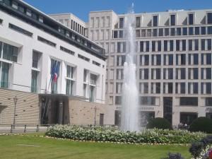 Berlin-Mitte, Pariser Platz, Französische Botschaft