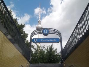 Berlin, U-Bahnhof Klosterstraße