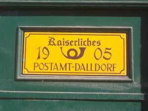 Berlin-Wittenau, Altes Postamt Dalldorf