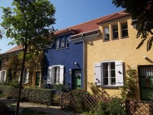 """Berlin-Bohnsdorf, """"Tuschkastensiedlung"""" (Bruno Taut)"""