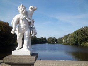 Schlosspark Charlottenburg, Barockhafen
