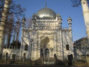 Wilmersdorfer Ahmadiyya Moschee, gebaut 1924-1928