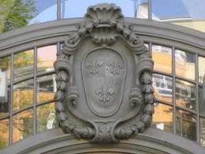 Wilmersdorfer Wappen (Blissestift, Wilhelmsaue)