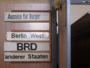 Berlin, Ausstellung zum Alltag der deutschen Teilung