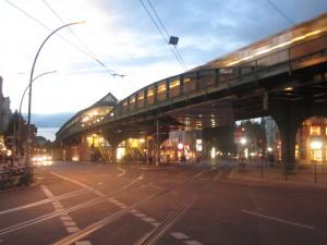 Berlin, U-Bahnhof Eberswalder Straße