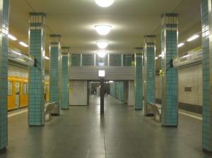 Berlin, U-Bahnhof Tierpark