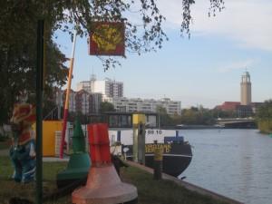 Berlin-Spandau, Havel in der Nähe des ehem. Burgwalls