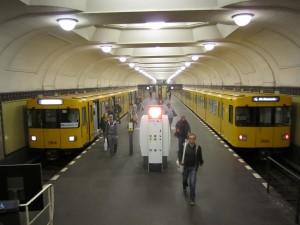 Berlin, U-Bahnhof Platz der Luftbrücke