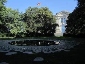 Berlin-Tiergarten, Mahnmal für die ermordeten Sinti und Roma