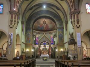 Berlin-Neukölln. Die St.-Johannes-Basilika hat heute eine polnische Gemeinde.