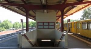 Berlin, U-Bahnhof Ruhleben