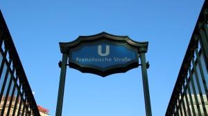 Berlin, U-Bahnhof Französische Straße